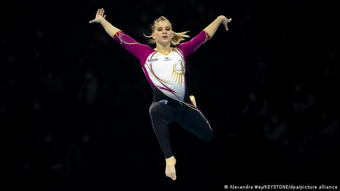 Basel Elisabeth Seitz aus Deutschland Turn-EM