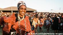 Zulu Queen Mantfombi Dlamini Zulu 2004