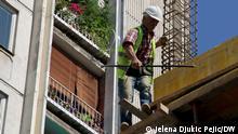 Serbien Wohnhäuser Energieeffizienz Wohnungsbau