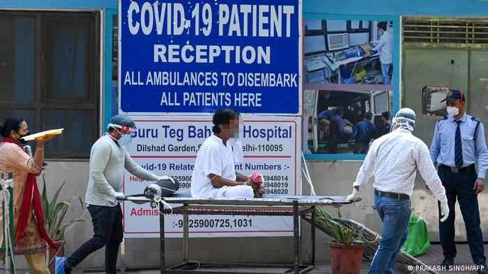 Corona-Pandemie Indien | Neu Delhi Patient