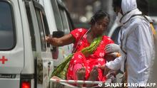 Corona-Pandemie Indien | Allahabad Patientin