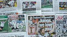 Presseschau Deutschland Südafrika WM 2010 Fußball England Deutschland Presseschau
