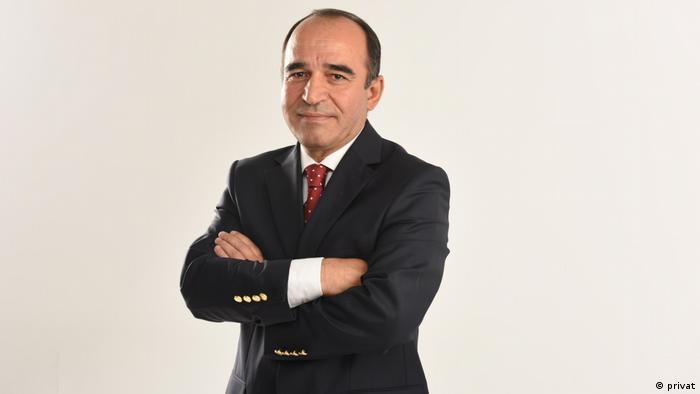 Süleyman Sarılar, der ehemalige Chefredakteur des regierungskritischen TV-Senders Olay TV