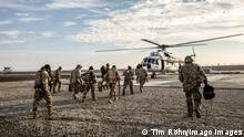 Afghanistan Bundeswehr-Soldaten im Camp Pamir in Kunduz
