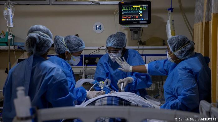 Медицински персонал в Индия