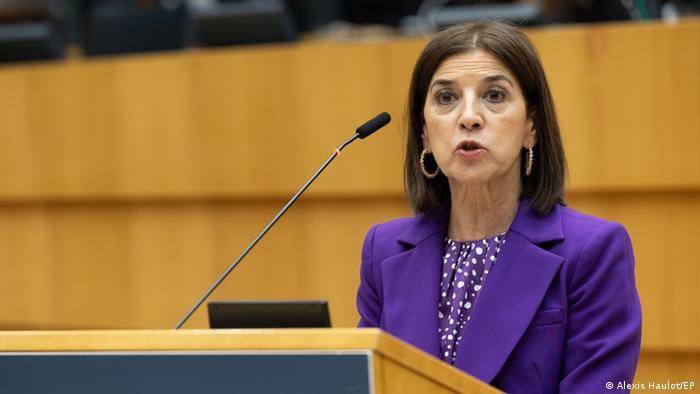 Izaskun Bilbao Barandica, vicepresidenta de la Delegación para las Relaciones con los países de la Comunidad Andina del Parlamento Europeo, Bruselas, 29.03.2021