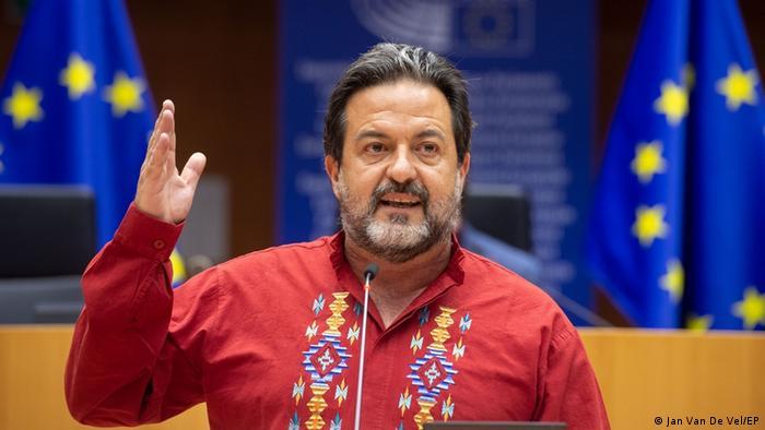 Manu Pineda, eurodiputado, miembro de la Comisión de Asuntos Exteriores y de la Asamblea Euro-Latinoamericana.