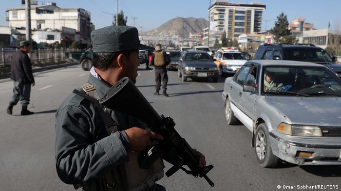 تصویر از آرشیف: تدابیر امنیتی در شهر کابل