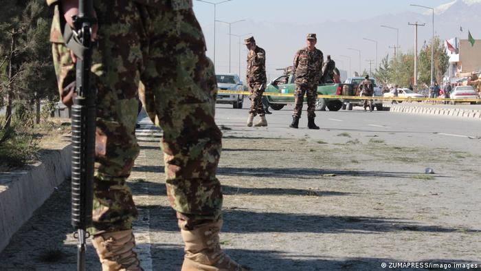 Soldados en Afganistán.