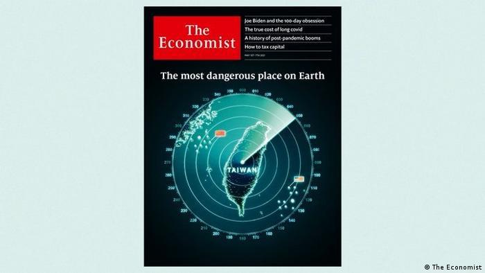 """《经济学人》5月1日发行的期刊以台湾雷达图为封面,称这是""""地球上最危险的地方"""",并指台海若爆发战争将成灾难,美国和中国须极力避免"""