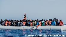 SOS MEDITERRANEE | Rettungsaktion Ocean Viking