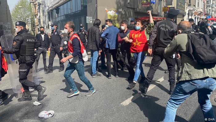 Türkei Istanbul | Verhaftungen bei 1. Mai Demonstration