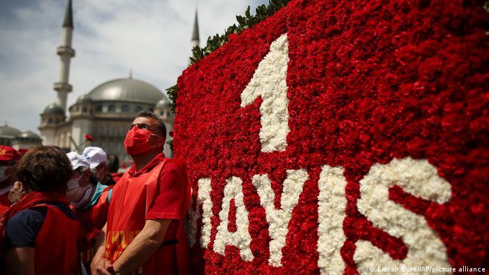 Türkei Istanbul | 1. Mai Demonstration