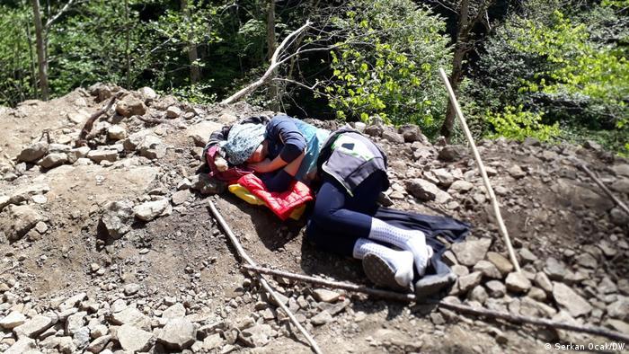Türkei Protest gegen geplanten Steinbruch in Ikizdere