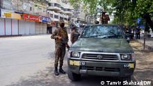 Lahore, Pakistan | Militär setzt Coronavirus-Schutzmaßnahmen um