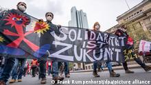 1. Mai 2021 - Demonstrationen - Frankfurt/Main