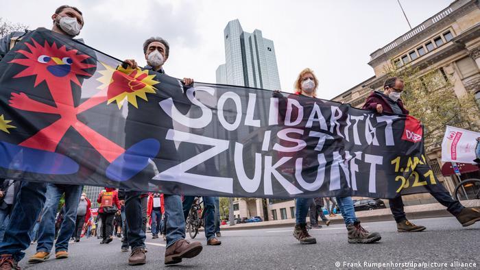 1. Mai 2021 - Demonstrationen - Frankfurt/Main