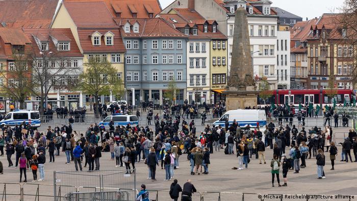 1. Mai - Demonstrationenen - Erfurt