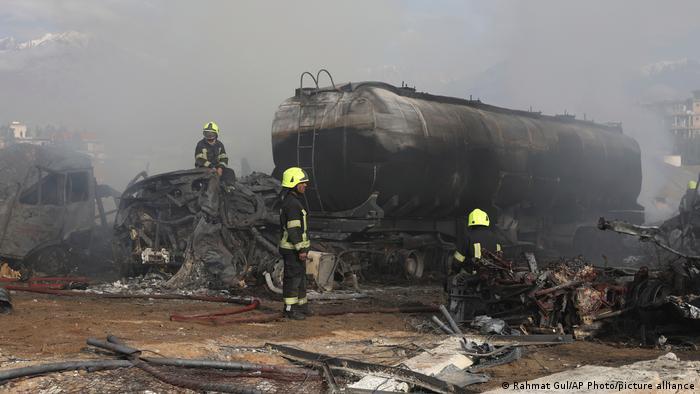 Kabil'de patlama: En az 25 ölü