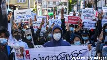 Myanmar | Demonstration gegen Militärputsch Global Myanmar Spring Revolution Day