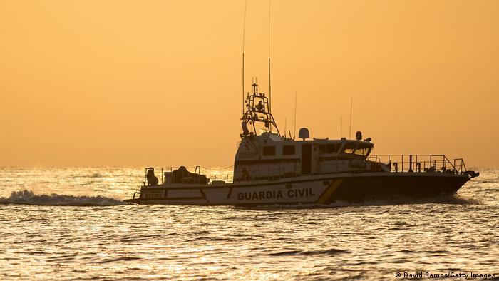 A Spanish Guardia Civil boat patrol