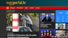 Screenshot Moj portal (Mein Portal) , Kroatien