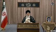 Iran | Fernsehansprache: Ali Khamenei, Führer der Islamischen Republik