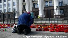 Ukraine Gedenkveranstaltung in Odessa