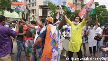 02.05.2021 - TMC won the West Bengal assembly Election. It was an important election in India. Tmc won against BJP. Foto: Syamantak Ghosh