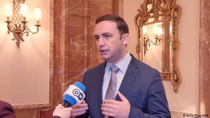 Μπουγιάρ Οσμάνι, υπουργός Εξωτερικών της Βόρειας Μακεδονίας