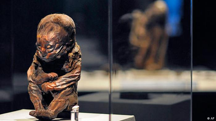 Mumien Ausstellung Mummies of the world Kalifornien Flash-Galerie (AP)