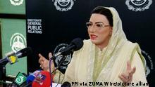 Pakistan Firdous Ashiq Awan