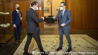 Deutschland Berlin | Außenminister Heiko Maas & Bujar Osmani, Nord-Mazedonien