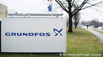Логотип Grundfos