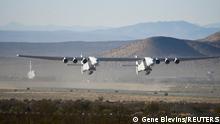 USA | Stratolaunch | Zweiter Testflug | Weltgrößtestes Flugzeug