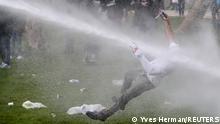 Weltspiegel | Belgien Protest gegen Corona-Maßnahmen in Brüssel