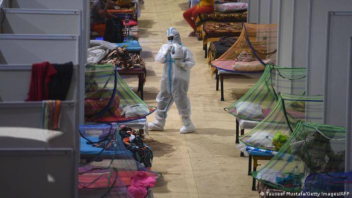 Weltspiegel | Indien Corona-Pandemie | Situation in Delhi