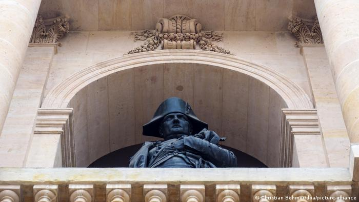 Homenajes por doquier: Napoleón es venerado en Francia como un prócer, a pesar de que reintrodujo la esclavitud luego de la Revolución Francesa.