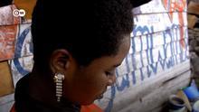 Titel: #PasSansElles RDC prostitution Beschreibung: Still aus dem Video #PasSansElles Autor: Zanem Nety Zaidi