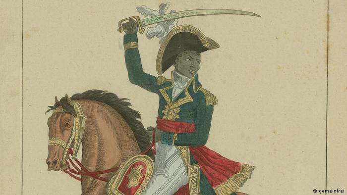 Fransoa Dominik Tusen-Luvertir vodio je revoluciju na Haitiju 1791. godine
