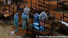 Indien Corona-Pandemie | Situation in Bengaluru