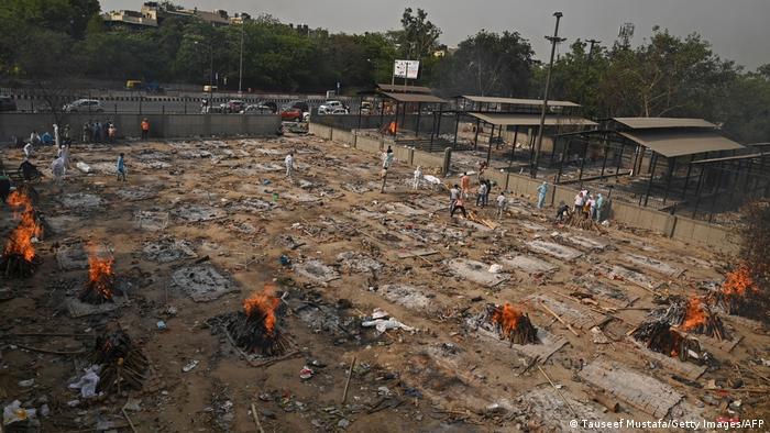 Indien Corona-Pandemie | Situation in Delhi