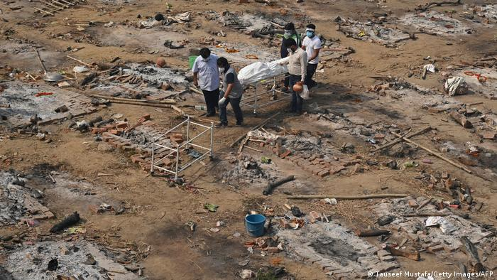 Indien Corona-Pandemie   Situation in Delhi