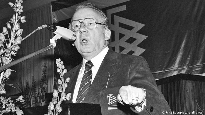 هرمان نویبرگر هفتمین رئیس در تاریخ فدراسیون فوتبال آلمان است. نویبرگر سال ۱۹۷۵ ریاست DFB را به عهده گرفت. او به مدت ۱۷ رئیس این نهاد بود و طولانیترین مدت ریاست این فدراسیون پس از جنگ جهانی دوم را به خود اختصاص داد.