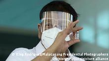 Philippinen Manila | Coronavirus | Rodrigo Duterte, Präsident