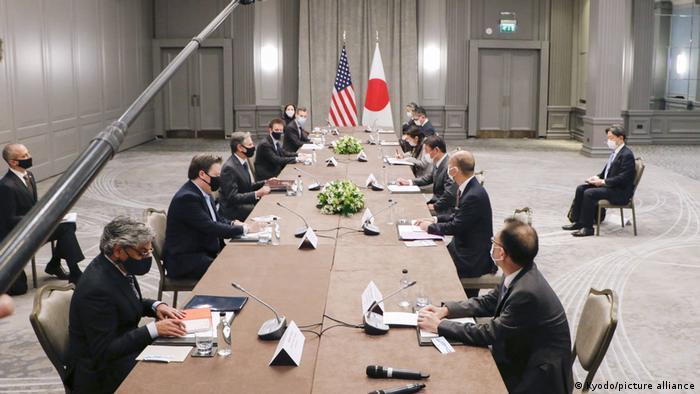 نشست نمایندگان سیاسی آمریکا و ژاپن، لندن، سوم مه ۲۰۲۱