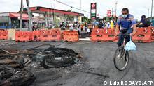 Kolumbien Cali Proteste gegen Steuerreform