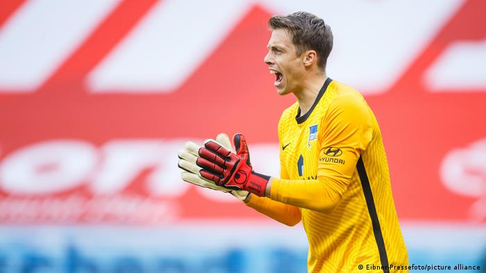 Fußball Bundesliga - 1. FSV Mainz 05 v Hertha BSC Berlin | Alexander Schwolow