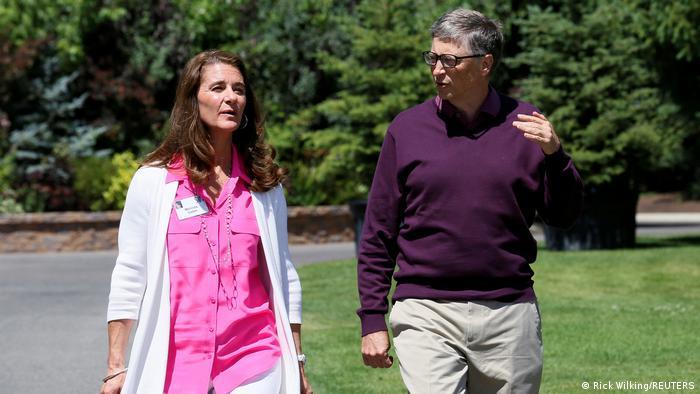 Gehen künftig getrennte Wege: Melinda und Bill Gates