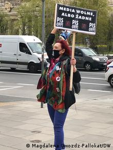 Председатель движения Польские бабушки Ивонна Ковальская